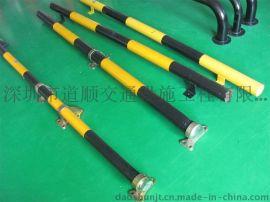 焊接钢管停车场挡轮杆