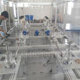 工业炉专用SWL10T蜗轮丝杆升降机-四台丝杆升降机同步提升