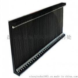 柔性进口三防布防尘防铁屑阻燃风琴式防护罩
