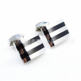 德利鑫 DLXZZ 不锈钢袖扣 优质 欧美  袖扣  韩式外套袖扣 生产厂家