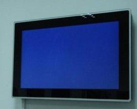 26/27寸广告机 壁挂高清网络版广告机 **窄边播放器WiFi广告机 壁挂式广告机显示屏