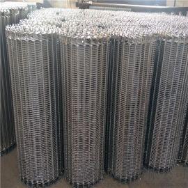 阳光输送专业生产粉末冶金耐高温烧结炉网带 小密度物件输送链网 环形输送带 菱形输送带