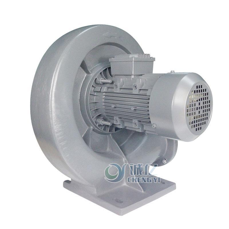 诚亿CYX1500 工业中压鼓风机 透浦式鼓风机烧烤炉灶强力抽风机铝壳鼓风机