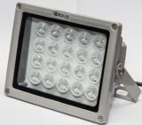 监控补光灯白光220v监控led辅助光感应环境小区道路车牌补光灯