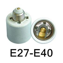 E27-E40转化陶瓷灯座