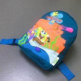 儿童书包批发小学生双肩包培训辅导班广告书包定制印字印LOGO背包