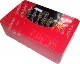 無果枸杞芽茶包裝盒, 內塞蓋枸杞芽茶禮品盒
