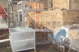 隆泰制造19吨/日换热式固体泡花碱、水玻璃窑炉,节能环保