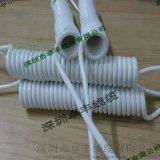 PU弹簧电线 ,1.5平方 0.75平方多芯伸缩螺旋电缆线