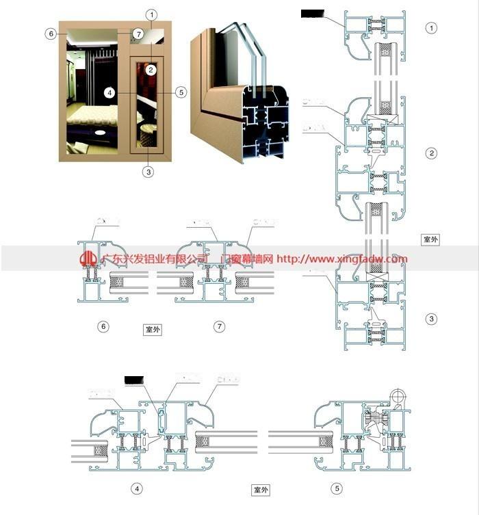 佛山|铝型材定制厂家|铝合金门窗型材|批发