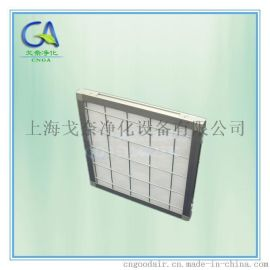 新疆乌鲁木齐初效过滤棉板式过滤器 铝框板式过滤器