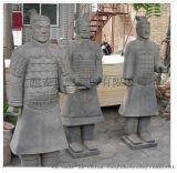 兵马俑工艺礼品 厂家直销 西安仿古兵马俑跪射俑批发