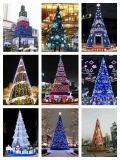 大型圣诞树,灯光节花灯花海,花车绿雕亮化工程