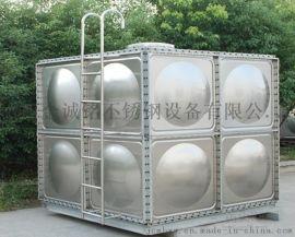 不锈钢消防水箱由单元矩型模压板