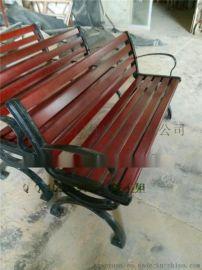 现货供应户外  实木公园椅 环保木休闲椅 户外实木公园椅