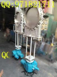 电动刀闸阀结构图  DN500口径电动刀闸阀