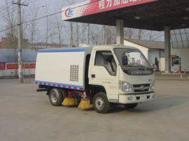 東風清洗掃路車|5立方清洗掃路車