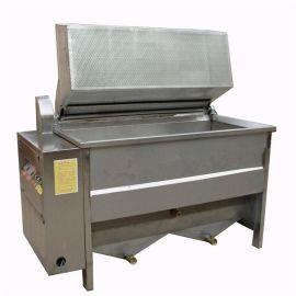 不锈钢电加热油炸机 燃气加热油炸锅