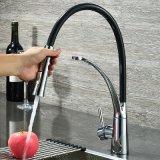 绮美斯卫浴全铜厨房冷热抽拉式水龙头洗菜盆水槽花洒喷头