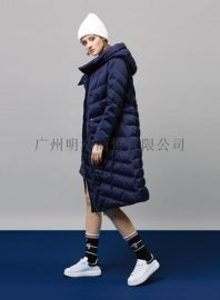 高端羽绒服折扣女装加盟店就到广州明浩
