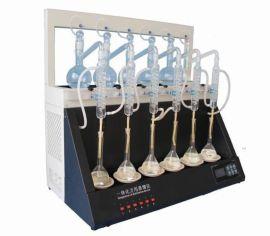 厂家热卖聚同JTZL-6一体化蒸馏仪技术参数