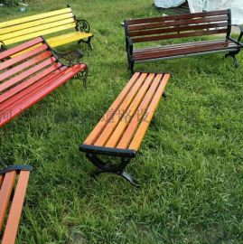 滨州休闲椅,山东木制坐凳,滨州公园靠背椅