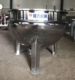 肉制品卤煮锅 立式夹层锅 不锈钢保温卤煮锅