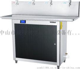 威可利电热不锈钢节能开水机WY-4G校园饮水机