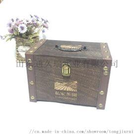 曹县厂家供应烧色茶叶礼品盒 现货内外包装袋木盒