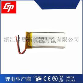 厂家生产供应1300毫安 802176聚合物**电芯 3.7V可充电聚合物电池