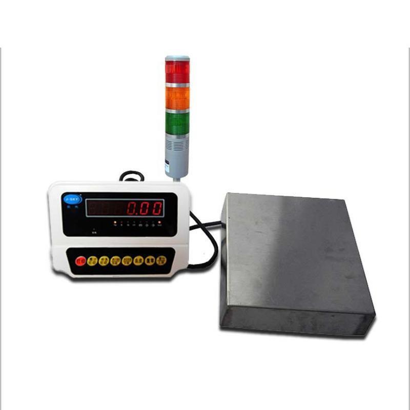 半自动化控制电子秤 300kg天关阀门控制电子称