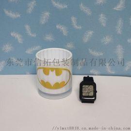 烫金玻璃杯水转印加工成品 杯子水贴纸定制加工