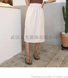 白沙女品牌折扣服装女装批发货源