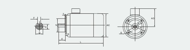 德东YS6324B14   0.18KW微型电机