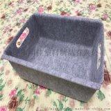 源头厂商供应花式毛毡压型储物箱 冷压收纳盒