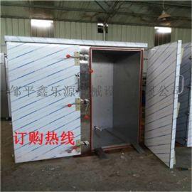 鑫乐源推荐北京食堂大型双门蒸汽馒头蒸箱 不锈钢蒸车