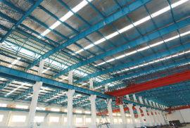 廠家直銷機修總廠擴建項目-廠房鋼構安裝