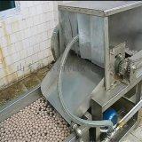 丸子水煮流水线设备 肉丸成型蒸煮线 鱼丸流水线