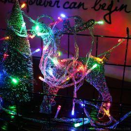 LED彩灯灯串 圣诞节日婚庆户外壁橱亮化装饰满天星