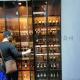 不锈钢恒温酒柜定制加工不锈钢中式酒柜