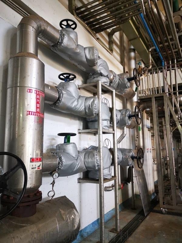 氣凝膠環保節能門閥保溫套