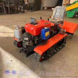 小型履带旋耕机现货 除草施肥开沟回填旋耕机