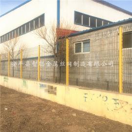 镀锌桃型柱护栏网 折弯桃形柱护栏 桃型柱护栏