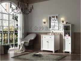 广东欧美浴室柜JF-A5014-广东欧美浴室柜生产商-广东欧美陶瓷盆浴室柜