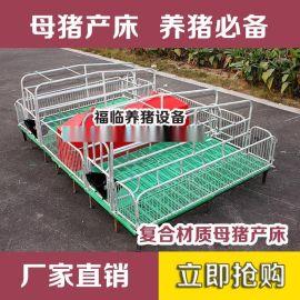 厂家直销批发饮水设备定做母猪产床保育床分娩漏粪板母猪食槽床定位栏