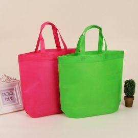 定做无纺布购物袋 平口袋束口袋广告环保袋手提袋可印logo