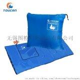 图橙TOUCAN-TRSD998宝蓝抱枕信封式户外睡袋