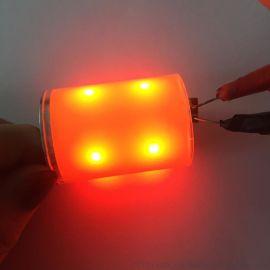 日本自行车尾灯cob光源360度发光体cob定制