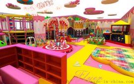 新型糖果主题淘气堡室内儿童乐园 广州飞翔家厂家直销
