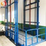 貨梯升降機廠房倉庫簡易電梯金鉤電動液壓貨運導軌式升降平臺2層